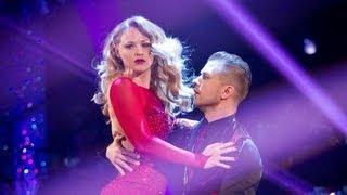 Kimberley Walsh American Smooths to 'Fever' - Strictly Come Dancing 2012 - Semi Final - BBC One