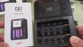 ISDT C4 EVO Battery Charger Review ⚡
