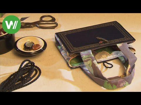 Taschen aus alten Büchern und Pullovern - orginell und kreativ!