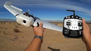ZOHD Orbit FPV Camera RC Airplane Flight Test Review