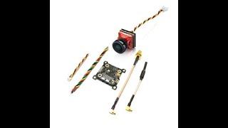 EACHINE TXC23 VTX + CADDX TURBO EOS2 1200TVL CAM 5.8Ghz 48CH FPV Mini Transmitter Camera Combo for M