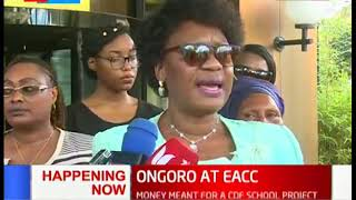 Ongoro to appear in court on Monday as she attributes her woes to a political witch-hunt