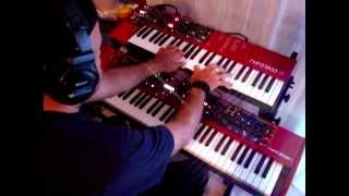 Stay with me - The Cranberries - Dolores O'Riordan (Cover keyboards by Alex Alberti)