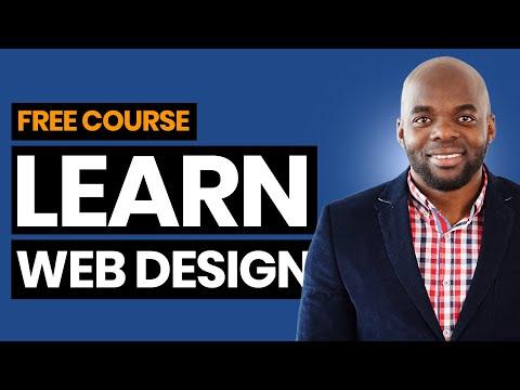 Learn web design   FREE Webdesign course - YouTube