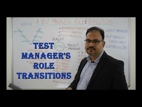 Test Management - Test Manager's Role During The Project Life Cycle #Testmanagement