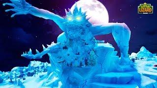 THE MONSTER CRACKS THE ICE *NEW SEASON 9*   Fortnite Short Film