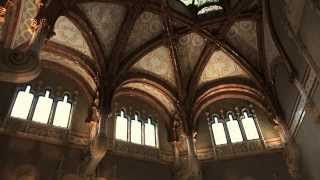 preview picture of video 'Entrada Hospital de Sant Pau. Recinte Modernista, Barcelona'