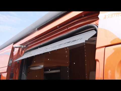 REMIcare Regenrinne für Kastenwagen