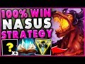 THIS NEW NASUS STRATEGY GUARANTEE 39 S HIS OP LATE GAME UNBEATABLE NASUS TOP League of Legends