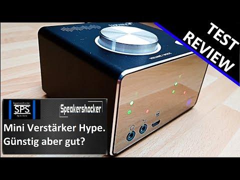 Verstärker Test Günstig aber gut? Nobsound Tone Mini Amplifier Test und Review.