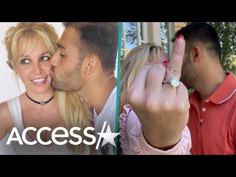 Britney Spears & Sam Asghari Are Engaged
