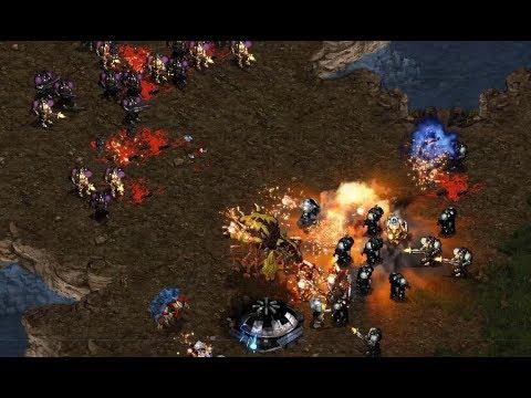 Pro 4v4 Feat. Hiya on Hunters - StarCraft - Brood War REMASTERED