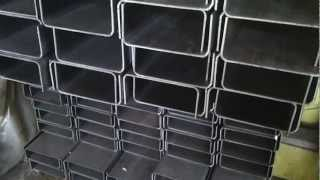 """Гнутый швеллер 140х80х3 мм от компании ООО """"ОЛТЕХ"""" - видео"""