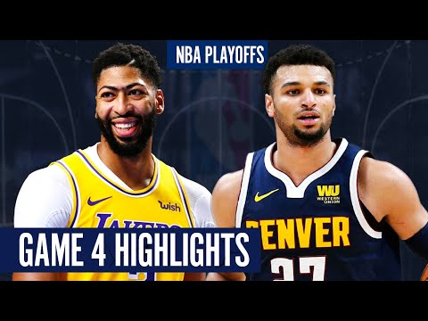LAKERS vs NUGGETS GAME 4 – Full Highlights | 2020 NBA Playoffs