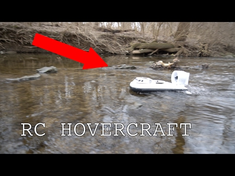 FREE 3D printed RC hovercraft