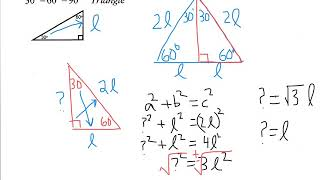 Geo Notes 8 3 Special Right Triangles