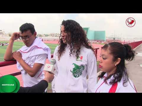 Para-atleta chimalhuacano participará en Campeonato Mundial Juvenil en Nottwill, Suiza