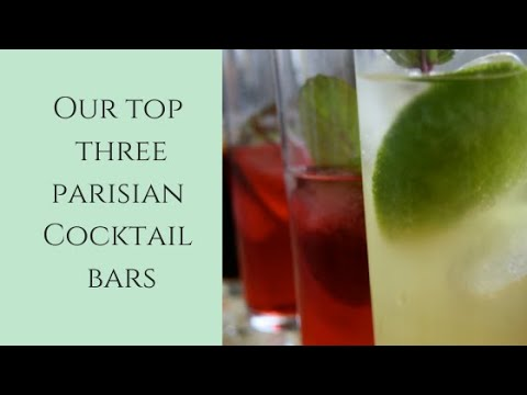 Best Paris Cocktail Bars