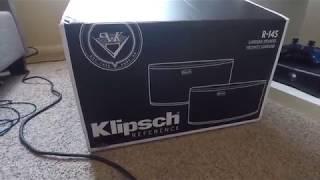 Klipsch R-14s surround speakers 7.1