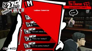 Persona 5 - Wednesday 7/27: Inviting a Confidant to Your Room (Group Invite to Hideout) Gameplay PS4