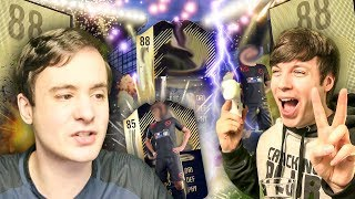 IN FORM WALKOUT PACKED TWICE WHAT THE?!?! FIFA 18 ULTIMATE TEAM PACK OPENING / TWOSYNC