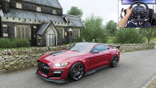 2020 Shelby GT500 - Forza Horizon 4   Thrustmaster T300RS gameplay