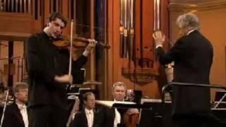 Noah Bendix Balgley | Brahms Violin Concerto | 1st Mvt | Queen Elisabeth Comp | 1 of 3 | 2009