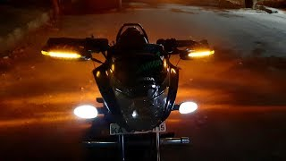 Best Modification KTM handle guard installing IN Honda Unicorn 150cc.
