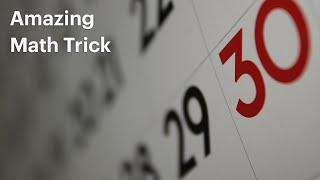 Amazing Calendar Trick