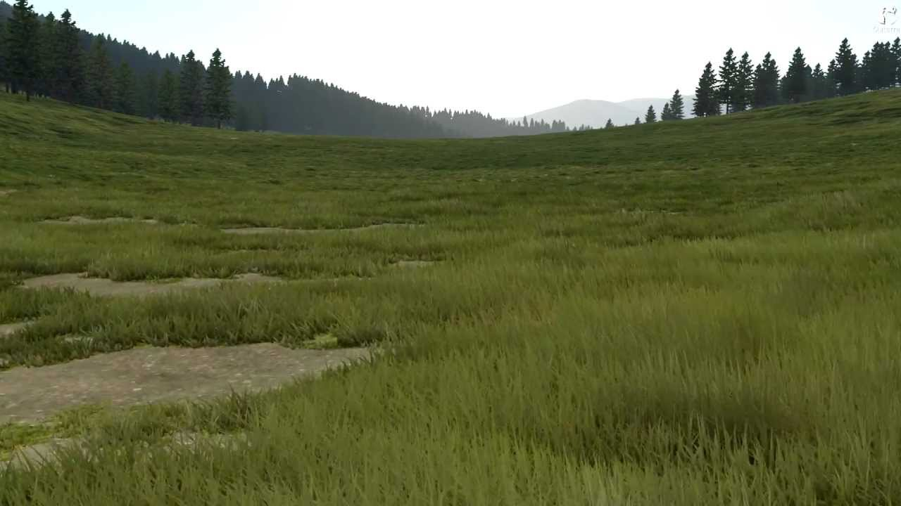 Excuse Me, I'm Going To Go Lie Down On This Beautiful Video Game Grass