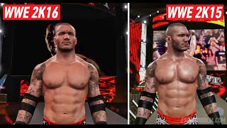 WWE 2K16 Graphics Comparison: Is It Worse? (PS4)