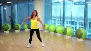 Худеем с помощью танцевальной аэробики: урок 2