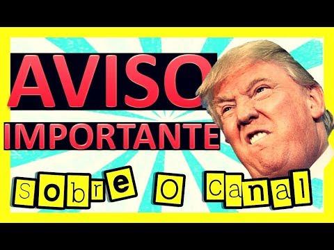 AVISO IMPORTANTE SOBRE O FUTURO DO CANAL !!! Apoidores/Padrinho TMJ ✌🙂