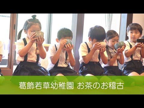 葛飾若草幼稚園 お茶のお稽古(茶道) (2018/6/25)