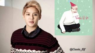 121226 XIA (Junsu) - Thank U For [New Song Release]