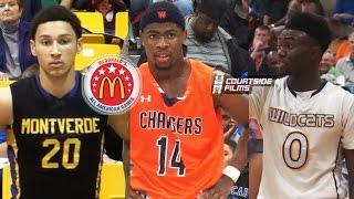 Introducing The Class of 2015 McDonald's All Americans! Ben Simmons, Malik Newman, Jaylen Brown etc.