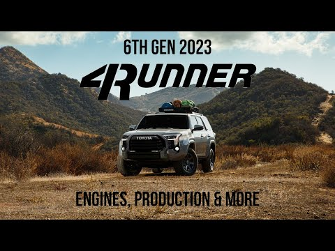 Here's What We Know About The 2023 Toyota 4Runner [6 gen]