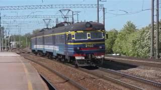 Электропоезда ЭР2-1293 и 1294 на о.п. Лиллекюла / ER2-1293 & 1294 EMU
