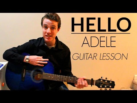Hello - Adele | Easy Guitar Lesson & Chords