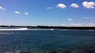 preview picture of video 'Tamarin Bay, Mauritius.'
