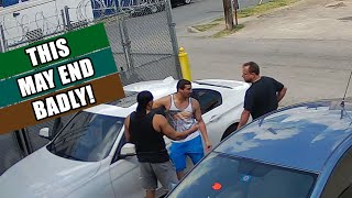 Confrontation with a BMW Driver