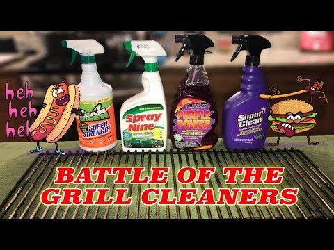 Battle of the Grill Cleaners