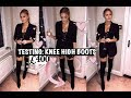 I SPENT £400 ON KNEE HIGH BOOTS   WHICH ONES ARE BEST?!!!