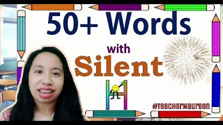 50+ WORDS WITH SILENT H || WHEN IS 'H' SILENT? || VOCABULARY WORDS || TAGLISH TUTORIAL