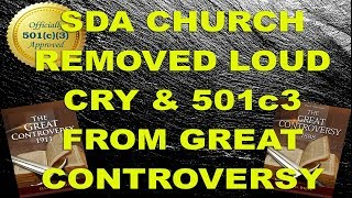 SDA Church Removed Loud Cry & 501c3 From GC