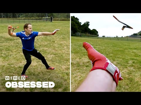 How This Guy Became a World Champion Boomerang Thrower | WIRED