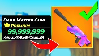 I spent 28,000 ROBUX on This DARK MATTER GUN IN BIG PAINTBALL..