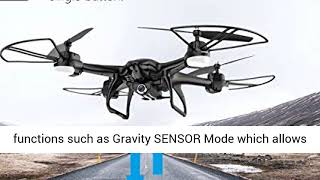 Holy Stone HS200 FPV RC Drone with HD WiFi Camera Live Feed 2.4GHz 4CH 6-Axis Gyro Quadcopter