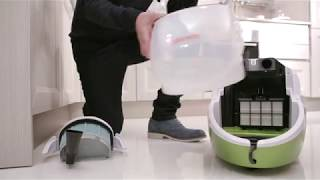 POLTI Vaporetto Lecoaspira - water vacuum cleaner: the double power of nature