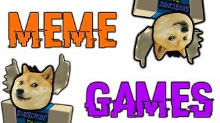 MEME MINIGAMES ON ROBLOX! (Epic Minigames)